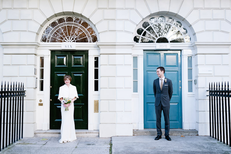 London wedding photograpy Fitzroy Square