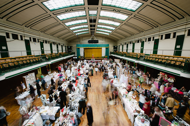 See A Most Curious Wedding Fair For Our Latest Exhibiting Vintage