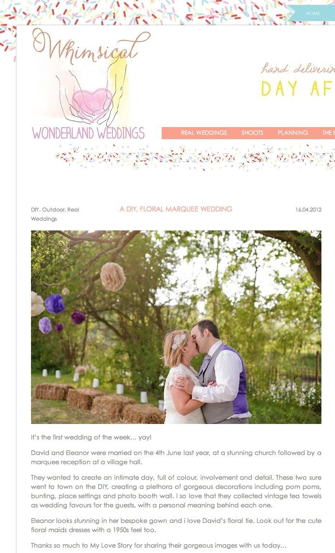 Marquee Summer Wedding