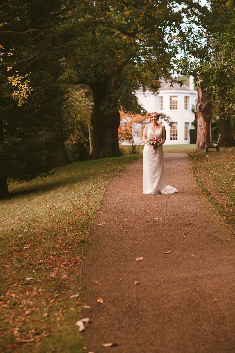 Bridal Wedding Photographs Richmond Park London