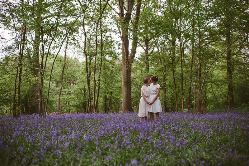 bluebell wood wedding