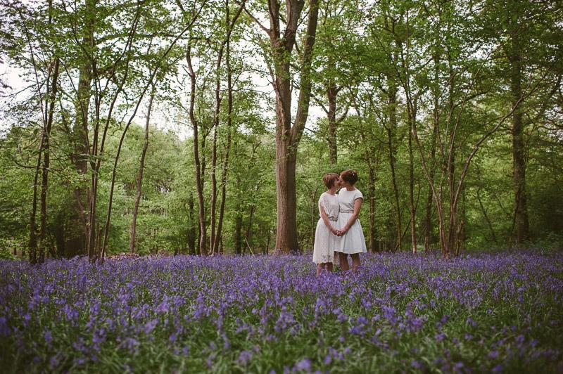 bluebell wood wedding