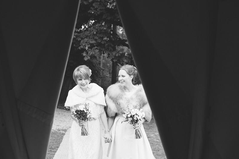 Knepp Castle wedding