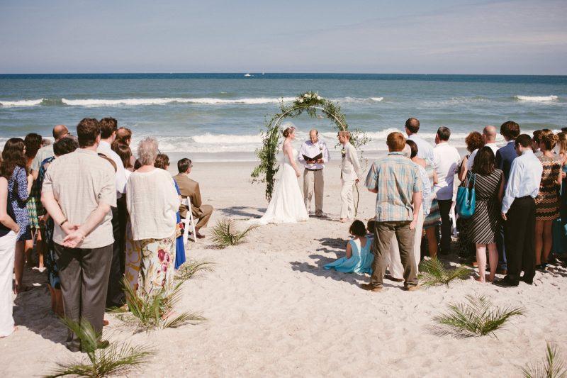 Beach Wedding Wilmington North Carolina USA