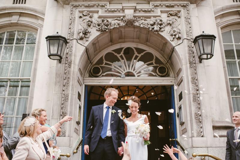Intimate London Wedding 001