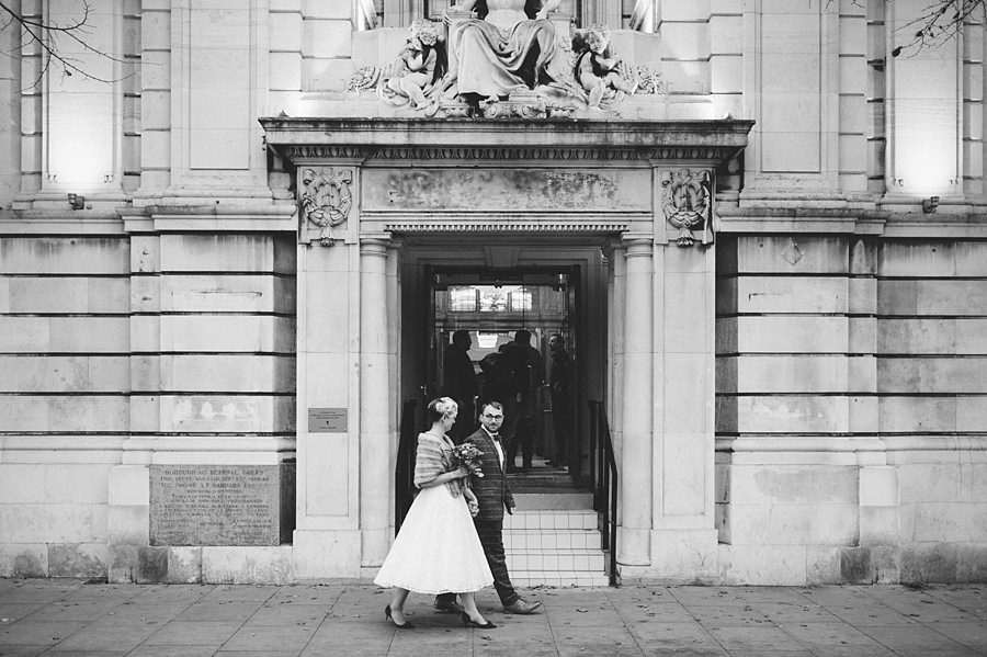 East London Wedding Town Hall Hotel 059