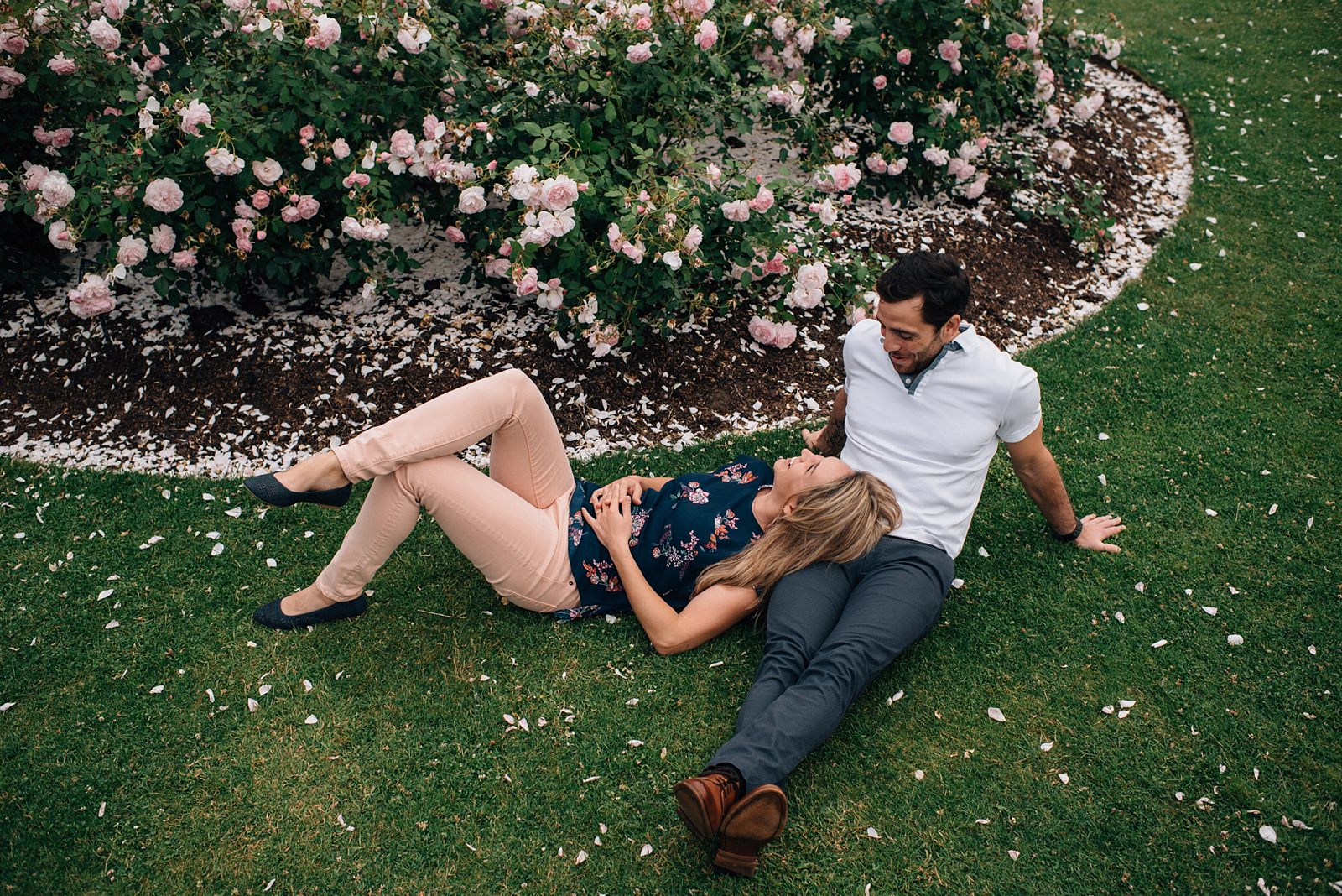 kew gardens engagement shoot