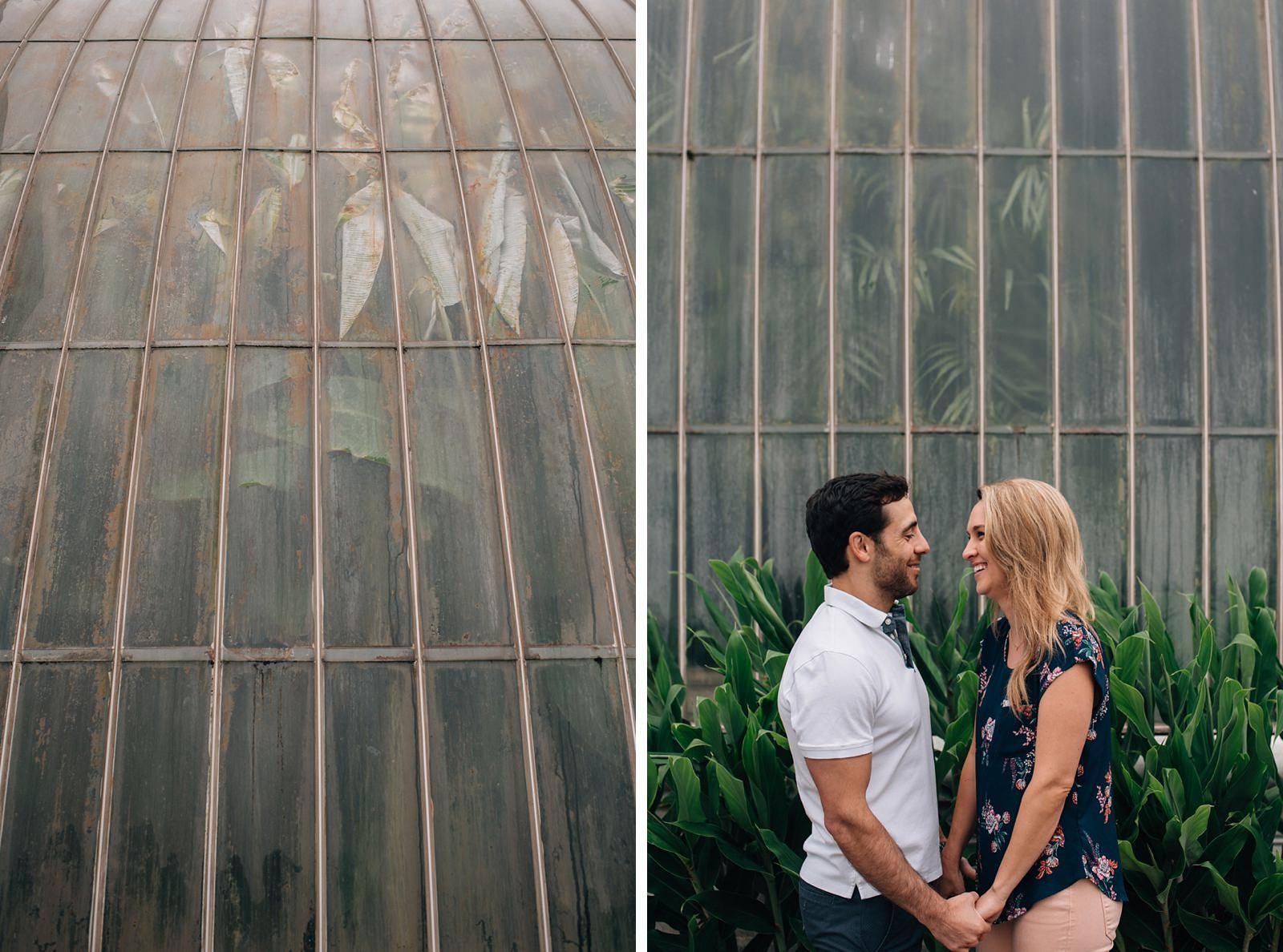 kew gardens engagement shoot
